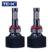 TC X 2 PCS H11 H8 H9 9006 HB3 9005 HB4 LED Car Headlight Foglights 6000K