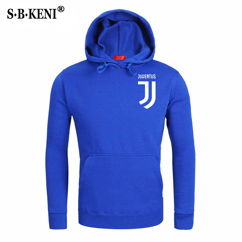 7fcac3fdd ... 2018 Brand New Men Hoodies Pullover Hip Hop Fleece Fashion Juventus  Print Sportswear Mens Tracksuit Sweatshirt