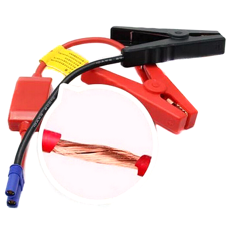 red /& black JIUY Battery Clips for Auto Car Emergency Lead Cable Jump Starter Clip Auto Engine Booster Storage Battery Clamp