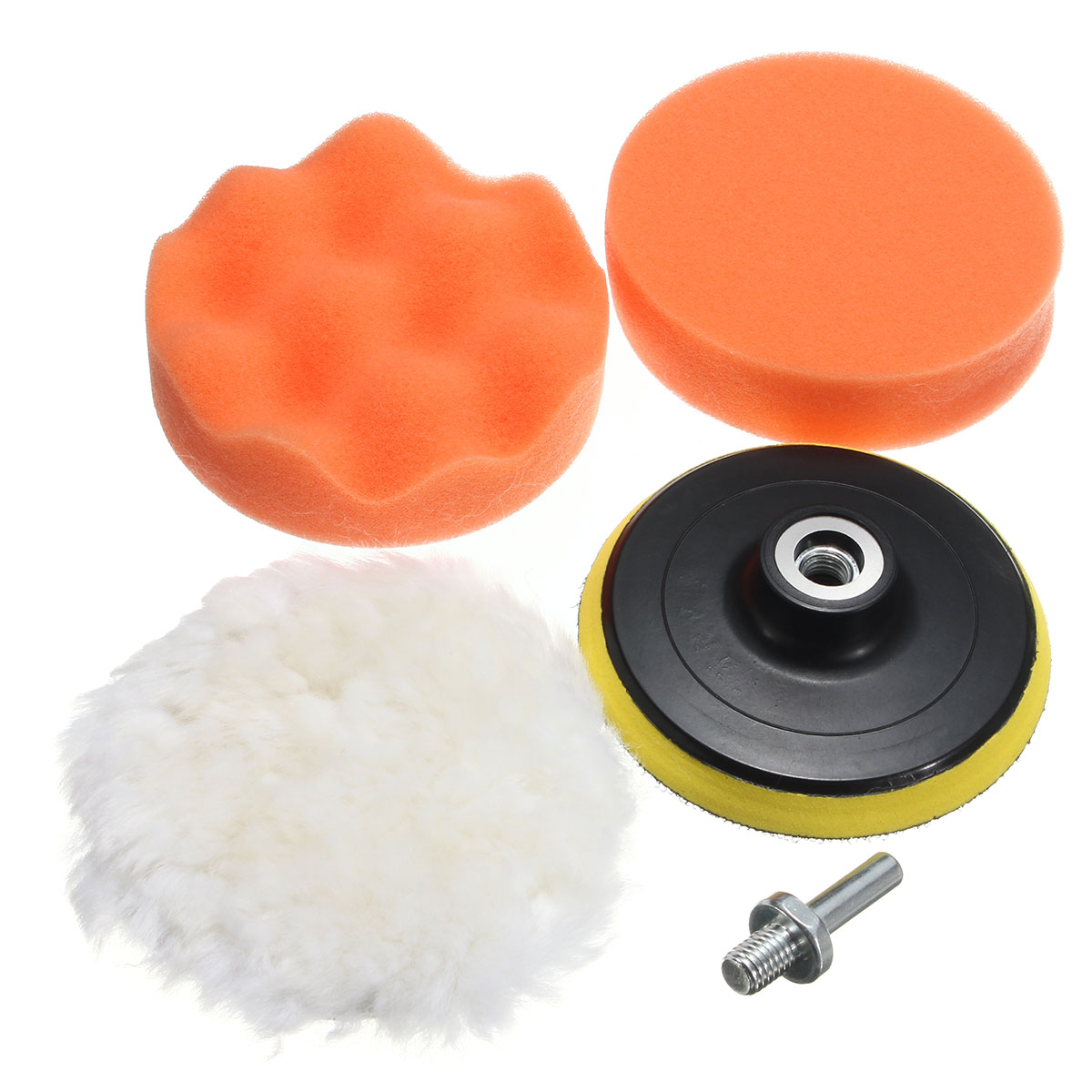 High Popularity 5pcs 4/5/6/7 Inch Sponge Woolen Pads