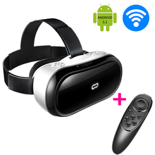 All-in-One 3D VR Movie Game Box M1 Glasses Virtual Reality Google Cardboard Head Mount Helmet Headset WiFi Bluetooth + Gamepa