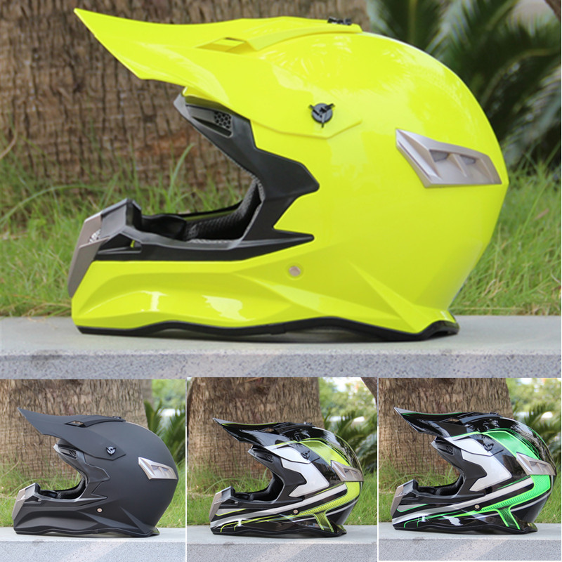 цена Free Shipping Casco Capacetes Off Road Motorcycle Helmet ATV Dirtbke The Cross Motorcross Helmets DOT Suitable helmet goggles