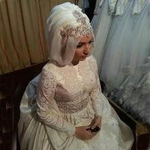 kejiadian Muslim wedding Dresses Long Sleeve