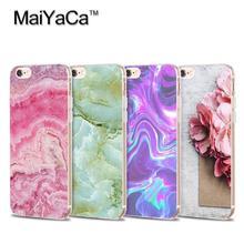 MaiYaCa 2017 New Arrival Granite Scrub Marble Soft Transparent TPU Phone Case For iPhone X XS XR XSMax 5 5s SE 6s 6Plus 7 8Plus