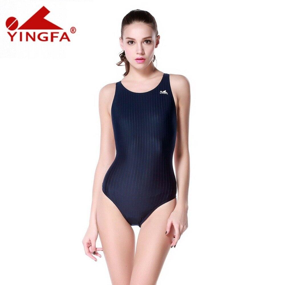 Yingfa Girls Junior Women Endurance Competition Race Aqua-Blade Swimsuit 24-34