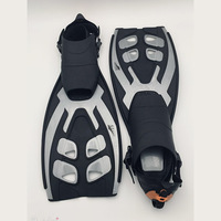 Hot Sale Silicone Scuba Snorkeling Diving Adult Anti slip Swimming Fins Trek Foot Flippers Profession