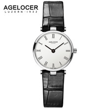 AGELOCER Famous Quartz Wrist Watches For Woman Design Fashion Clock Womens Watch Top Brand Luxury Ladies Wristwatch Reloj Mujer
