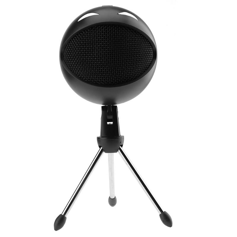 USB Cardioid Condenser Microphone with 3.5mm Jack Studio Microphone Wired Mic for Computer With Table Stand usb flash drive 16gb oltramax 250 om 16gb 250 red