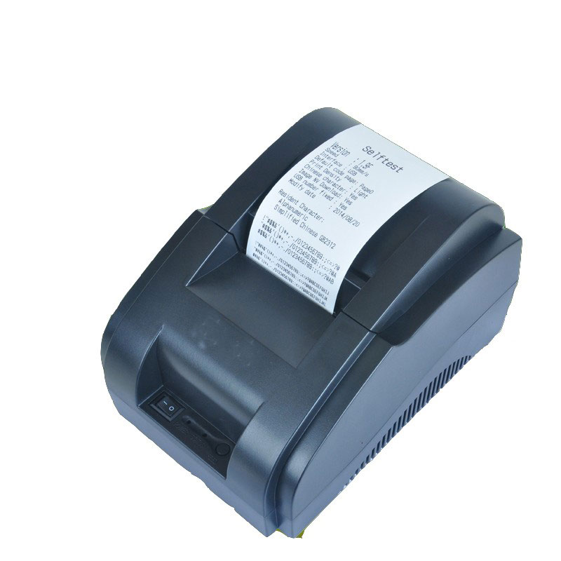 Hight speed USB Port 58mm thermal pirnter Thermal POS printer 90mm/s lower nose mini thermal receipt printer 58mm wholesaleHight speed USB Port 58mm thermal pirnter Thermal POS printer 90mm/s lower nose mini thermal receipt printer 58mm wholesale