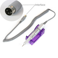 Cappucci 35000rpm Electric Micromotor Handpiece For Electric Nail Drill Manicure Metal material Prevent Melting