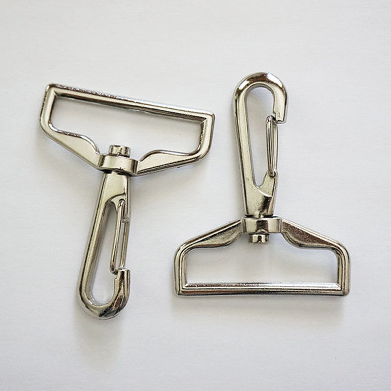 Swivel Snap Hook 1.5 Inch Square Top 38mm Width Metal Hook For Bag 40pcs/lot