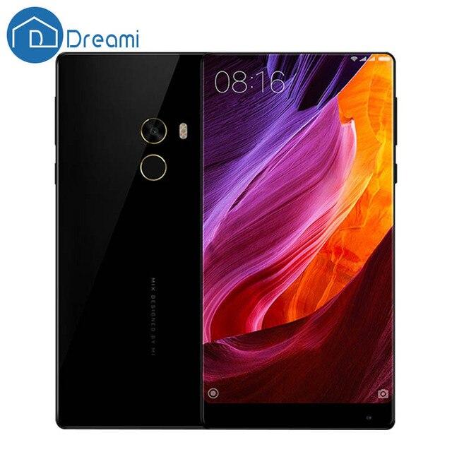 Dreami Оригинальный Mi MIX Pro 6GB RAM 256GB ROM Snapdragon 821 Мобильный Телефон Snapdragon 821 6.4 дюймов с эффектом Бесконечности Дисплей Мобильного Телефона