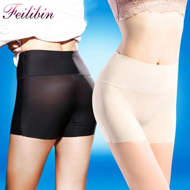 67579263167 High Waist Safety Short Pants Underwear Women Boxer Briefs Seamless  Boyshorts Sexy Lace Women s Boyshort Panties
