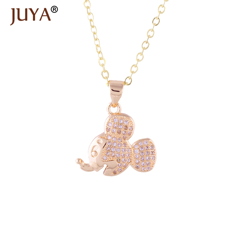 18e8c18c4 1pcs Mickey Kawaii Cartoon Charm Pendant Necklace Mickey Choker Link Chain  Fashion Accessories Women Girls Kid Birthday Gift-in Pendant Necklaces from  ...