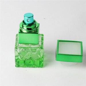 Image 5 - ファッション 10 ミリリットルカラフルポータブルガラス香水瓶アトマイザー空のためのスプレーでパルファムケース旅行