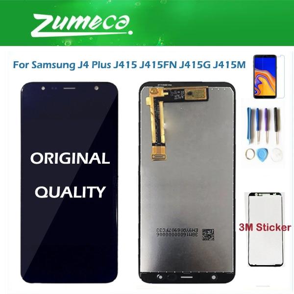 For Samsung Galaxy J4+ 2018 J4 Plus J415 J415F J415G J6 Prime J6 Plus 2018 J610 J610F J410 LCD Display Touch Screen Sensor+ KitFor Samsung Galaxy J4+ 2018 J4 Plus J415 J415F J415G J6 Prime J6 Plus 2018 J610 J610F J410 LCD Display Touch Screen Sensor+ Kit