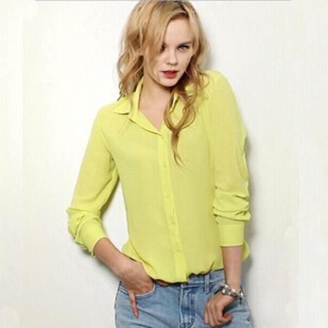 Chiffon Shirt Spring Summer