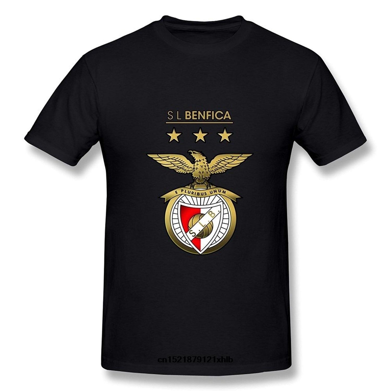 Men   T     Shirt   Fashion Tees S L Benfica Graphic Funny   T     Shirt   Novelty Tshirt Women High Quality   T  -  shirt