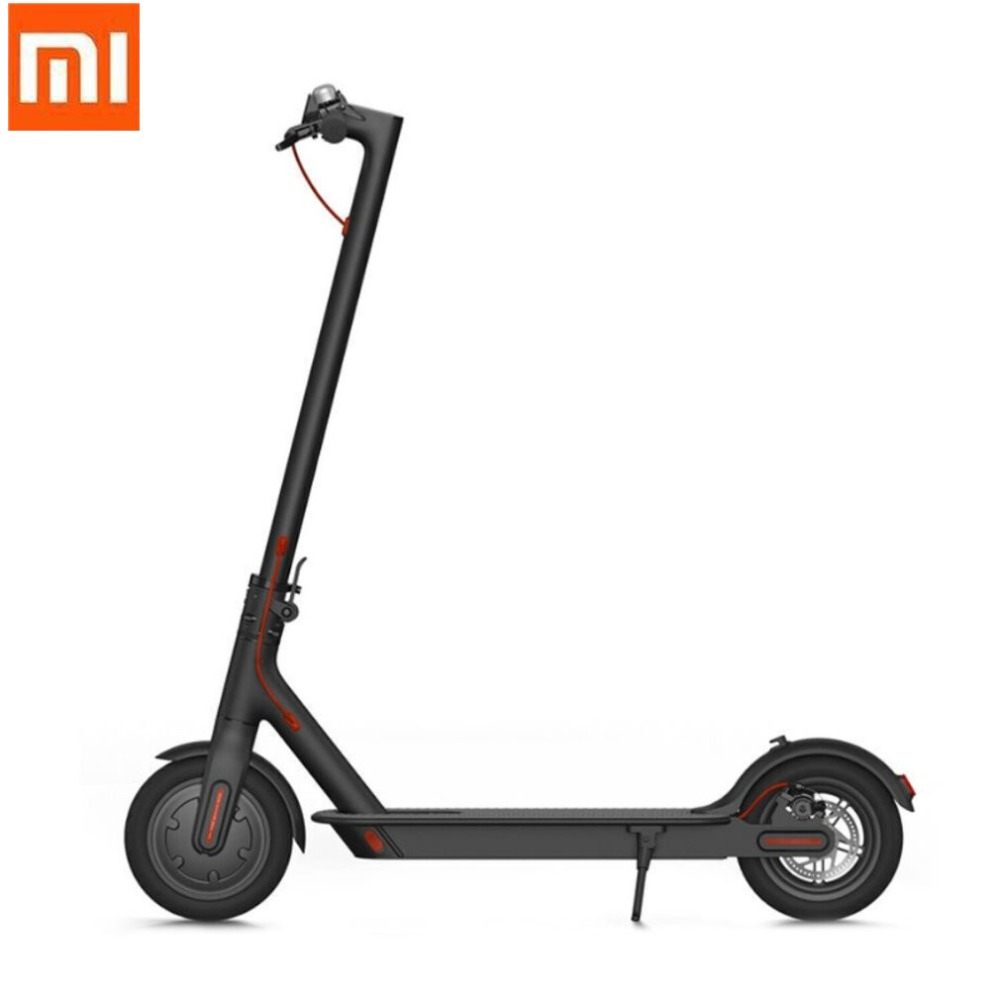 Xiaomi Mi Electronic Scooter 2 Wheel Folding Smart Scooter Skate Board Hoverboard 30km Battery Bike Kick Scooters Max Load 100Kg 2 wheel electric scooter skateboard lightest carbon fiber folding bike steering wheel kick scooter adult hoverboard lg battery