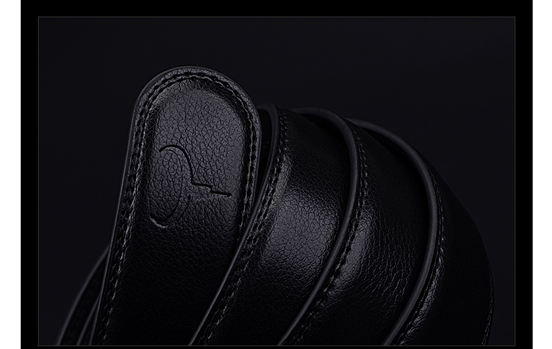 حزام COWATHER جلد طبيعي للرجال 18