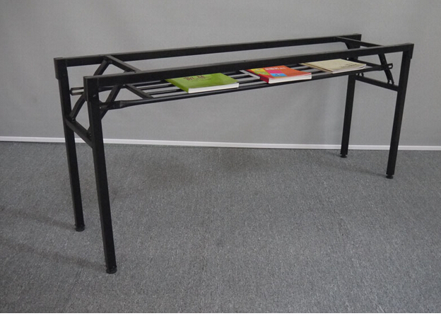 folding frame the table leg iron frame fold training table legs meeting