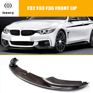 Parachoques delantero de fibra de carbono F32 F33 F36 para BMW F32 F33 F36 420i 428d 435d 420d 428d 428d 435d m-tech