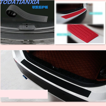 Car Styling Trunk Bumper Guard Pad Accessaries FOR lifan BMW E46 E52 E53 E60 E90 E91 E92 E93 F30 F20 F10 F15 F13 M3 M5 M6 X1 X3 image