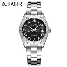 OUBAOER Womens Quartz Relogio Feminino Fashion Casual Ladies Wrist Women Watch saat 2017 New Arrival Watches
