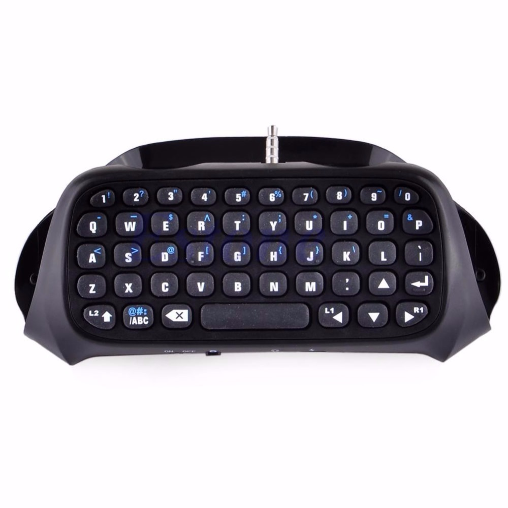 High Quality New Wireless Bluetooth Keyboard Keypad Chatpad For Game 4 Controller PS4 PlayStation