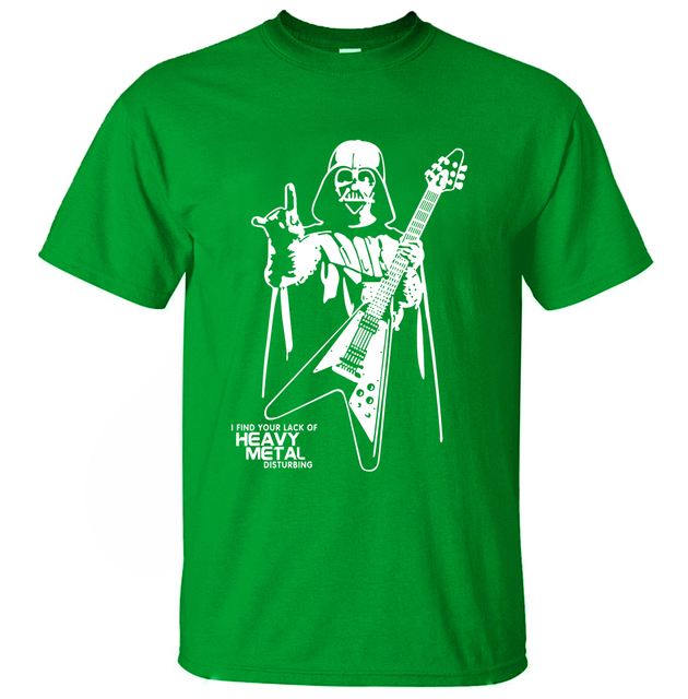 Star Wars Men T-Shirt – Heavy Metal