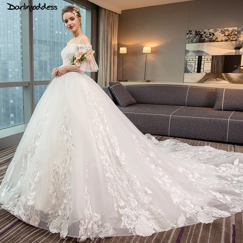 Aliexpress.com : Buy Sexy Backless Ball Gown Wedding