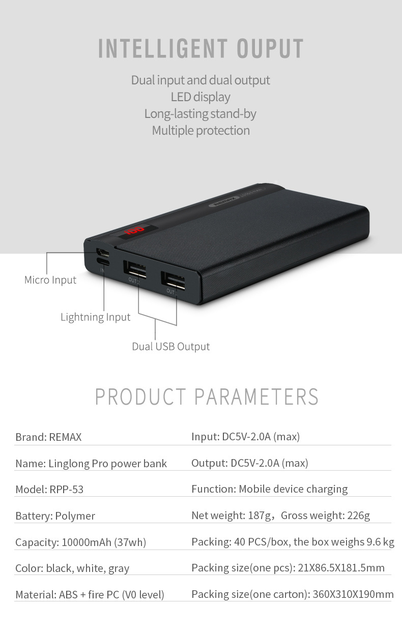 remax 10000mah power bank 3