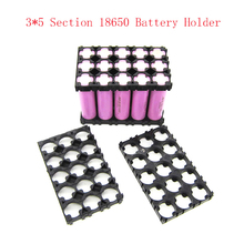 10 Pcs 18650 Battery Spacer Radiating Holder Bracket Electric Car Bike Toy