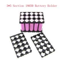 10 pçs 18650 bateria espaçador irradiando titular suporte de carro elétrico bicicleta brinquedo