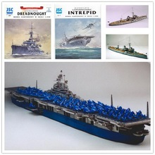 U.S Fearless Aircraft carrier 3D paper model class Aegis destroyer warship toy paper art trumpeter model 04531 1 350 russian udaloy ii class destroyer admiral chabanenko plastic model kit