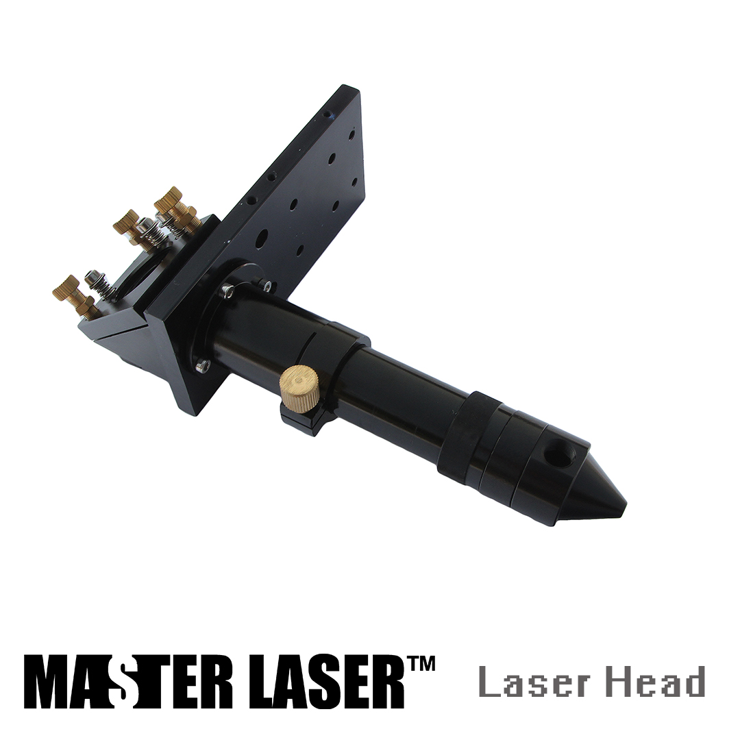 Laser Lens DIA 20mm FL127mm 5inch Mirror DIA 25mm with Gas Nozzle CO2 Laser Cutting Machine Assemble Mechanism Laser Pen laser lens dia 20mm fl100mm 4inch mirror dia 25mm with gas nozzle co2 laser cutting machine components laser head