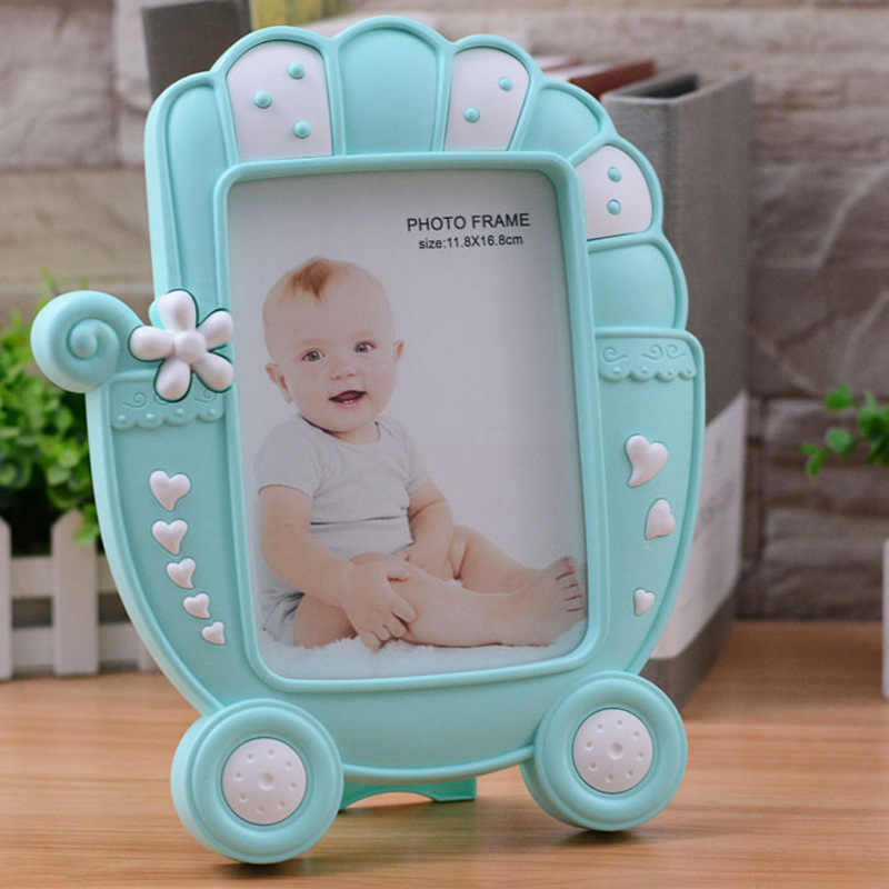 Home Improvement Photo Frame Creative Cartoon Plastic Frame For Babies Kids Photo Frame Desktop Frame