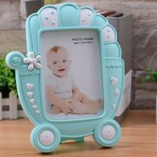Home Improvement Photo Frame Creative Cartoon Plastic Frame For Babies Kids Photo Frame Desktop Frame