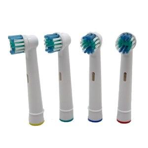 Image 3 - 20 adet elektrikli diş fırçası başı için Oral B elektrikli diş fırçası yedek fırça başkanları