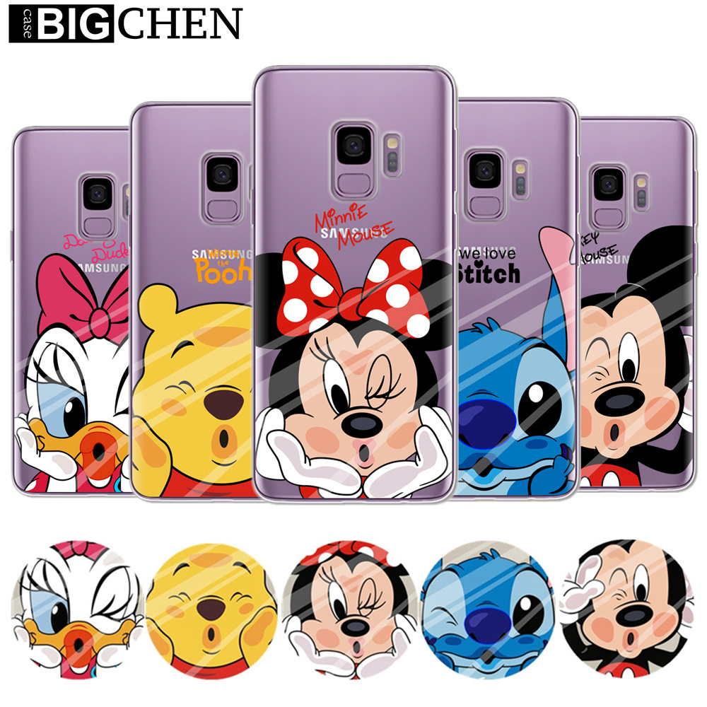 Mickey <font><b>Minnie</b></font> Fall Für Coque <font><b>Samsung</b></font> Galaxy Groß Prime S5 S6 S7 Rand S8 S9 Plus J2 <font><b>J3</b></font> J5 J7 a3 A5 <font><b>2016</b></font> 2017 2018 Note 8 Abdeckung image
