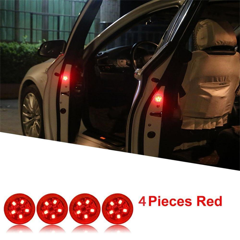 Red x 4 Lights