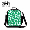 Dispalang hot sale cooler lunch bag for children school striped prints thermal insulated lunchbox for adult work picnic food bag