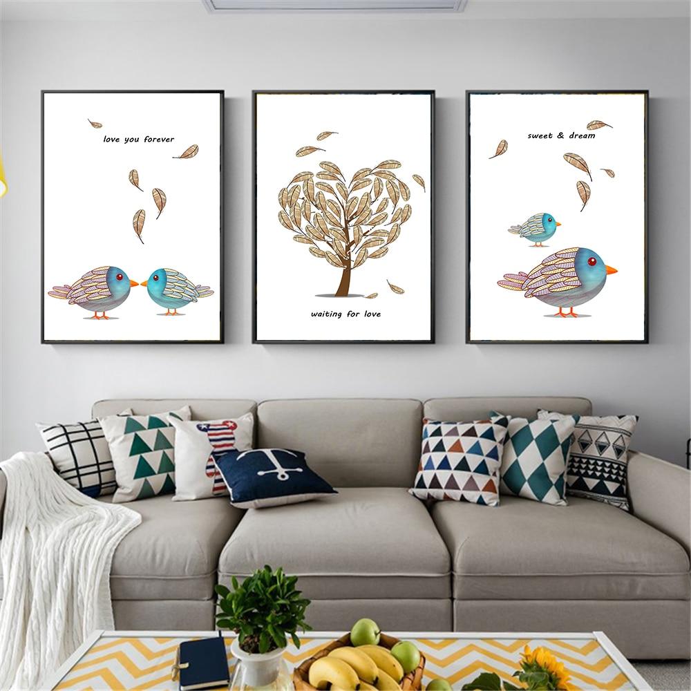 Aliexpress.com : Buy Cartoon Animal Birds Cute Nordic