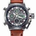 Relojes hombres marca de lujo de buceo LED relojes deportivos Militar Auténtico Reloj Luminoso reloj de cuarzo de los hombres relojes de pulsera relogio masculino