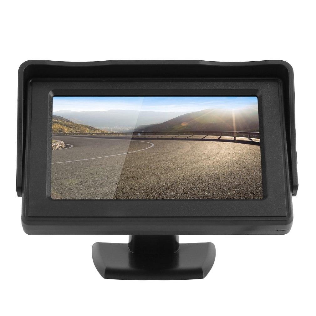 Klassische Stil 4,3 TFT LCD Rück Auto Monitore für DVD GPS Reverse Backup Kamera Fahrzeug fahren zubehör