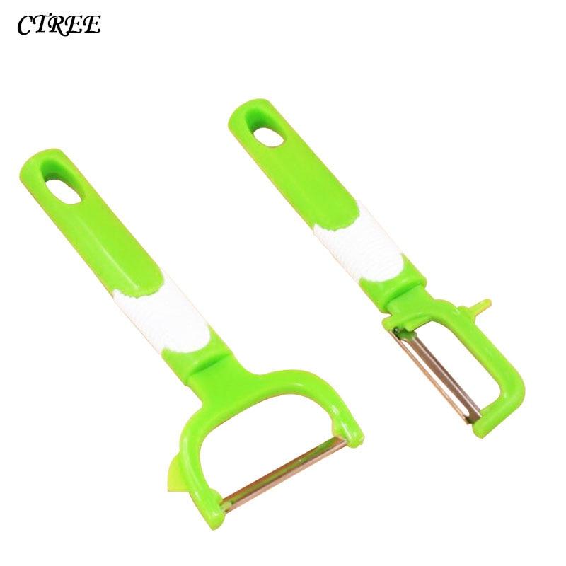 CTREE 1Pcs Stainless Steel Peeler Cut Fruit Vegetable Tools Peeler Zester Cutter Cooking Gadgets Helper Kitchen Accessories C202