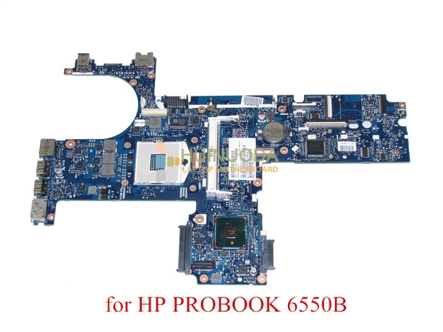 US $62 1 10% OFF|NOKOTION laptop motherboard for HP probook 6550B 613293  001 Notebook PC System board main board HM57 DDR3-in Motherboards from