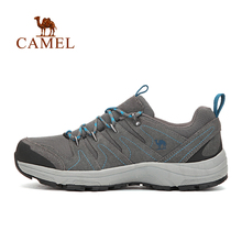 Camel Outdoor Professional Design Low Top Walking Shoes Slip-resistant Breathable Outdoor Walking Shoes Lace-up A63332607