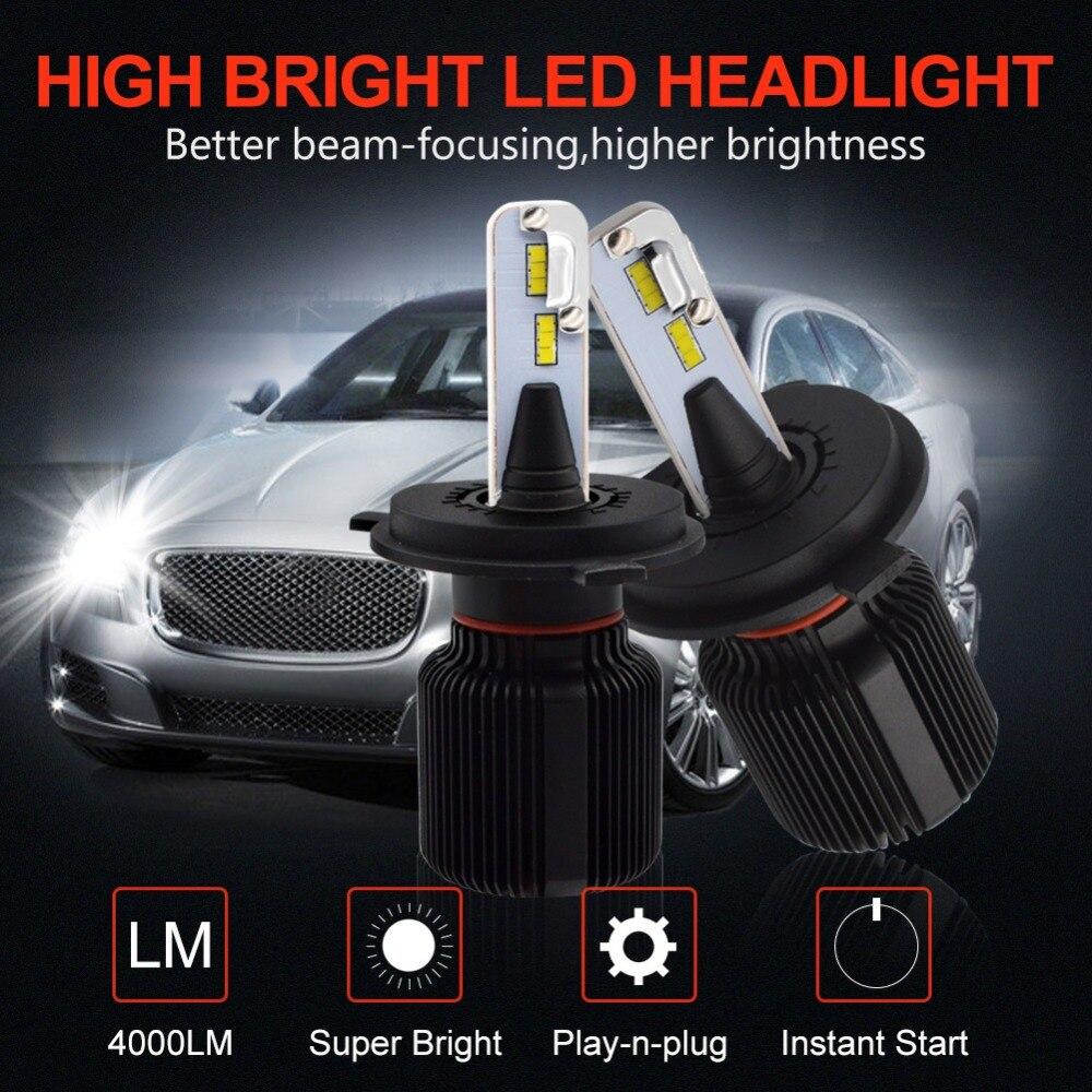 j1 led headlight-J1-H4