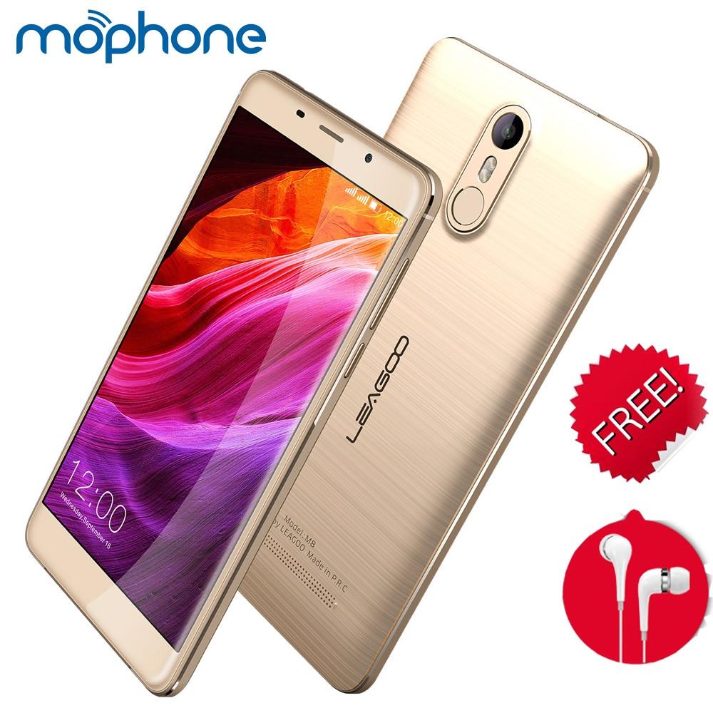 Цена за Leagoo m8 смартфон 3 г 5.7 дюймов ips экрана 1280*720 пикселей mtk6580a quad core 2 ГБ + 16 ГБ 3500 мАч батареи отпечатков пальцев id мобильный телефон